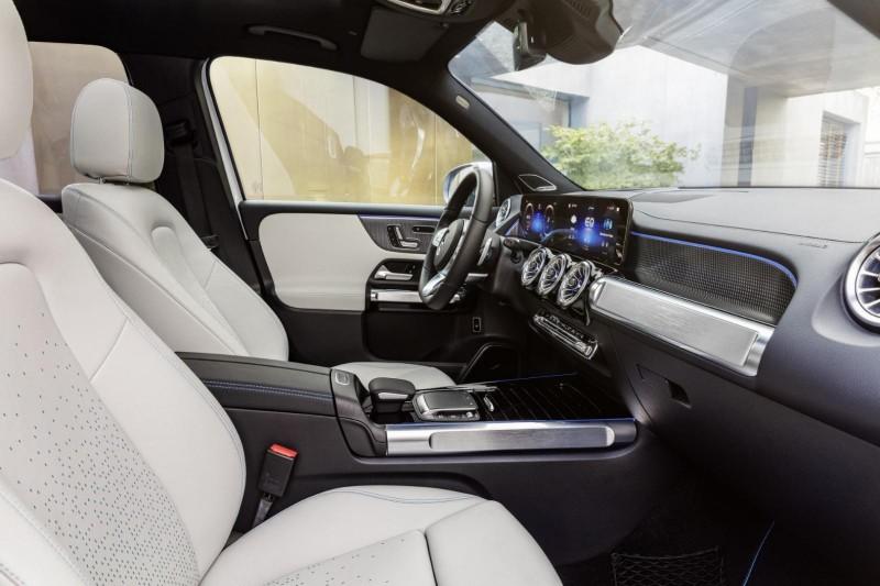 메르세데스-벤츠, 컴팩트 전기 SUV EQB 공개 - 상하이 모터쇼