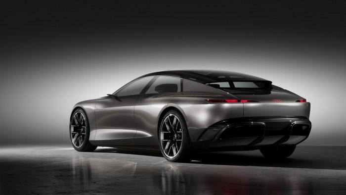 A8 예고(?) 아우디 그랜드스피어 컨셉(Audi Grandsphere)