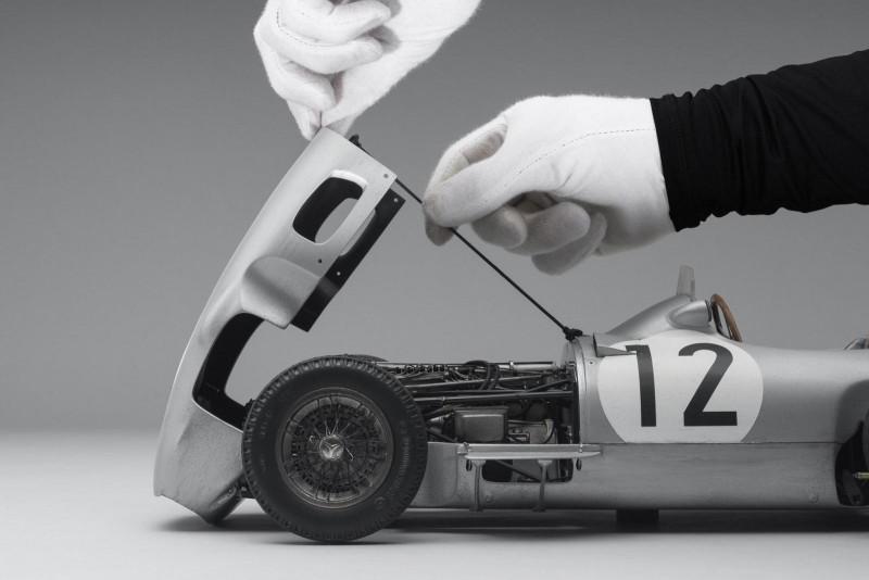 모형차라고 우숩게 보면 안됨, 벤츠 W196 모형차의 쩌는 디테일