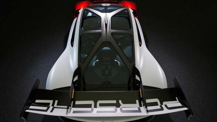 포르쉐 첫 EV 레이스카, 미션 R 컨셉(Mission R concept)