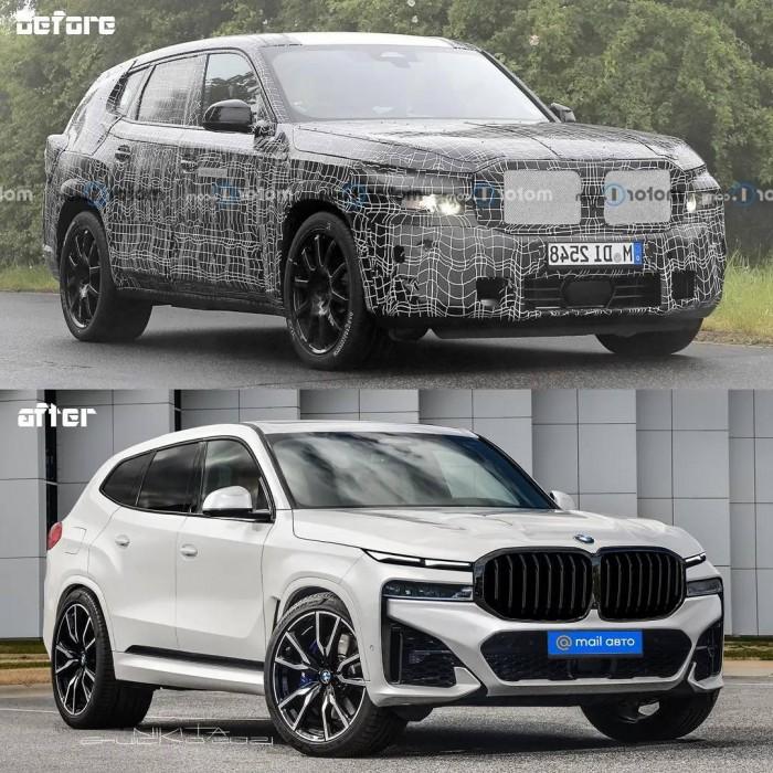 최신 스파이샷 토대로 완성한 BMW X8 예상도