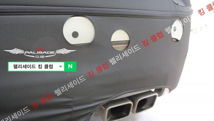 현대차 팰리세이드 페이스리프트 새로운 스파이샷