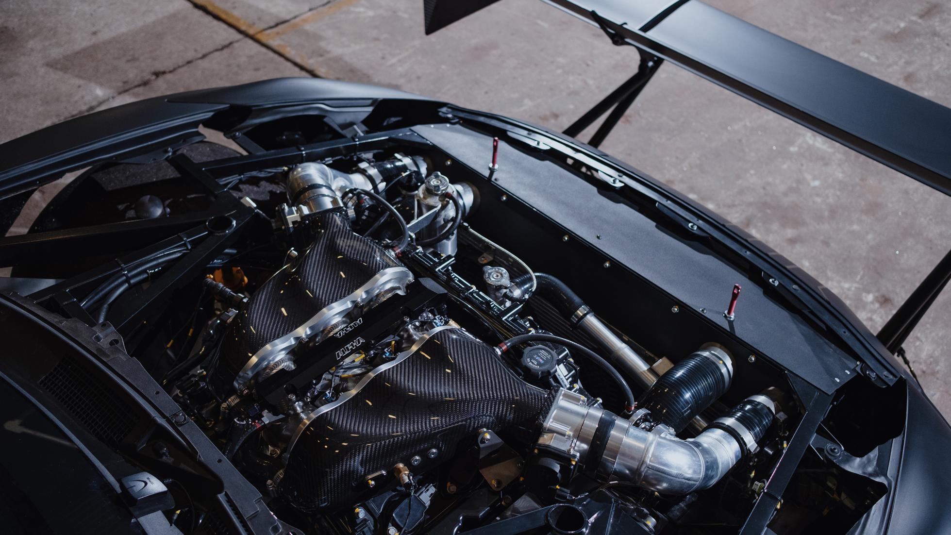 닛산 2,200마력  GT-R 힐클라임 머신