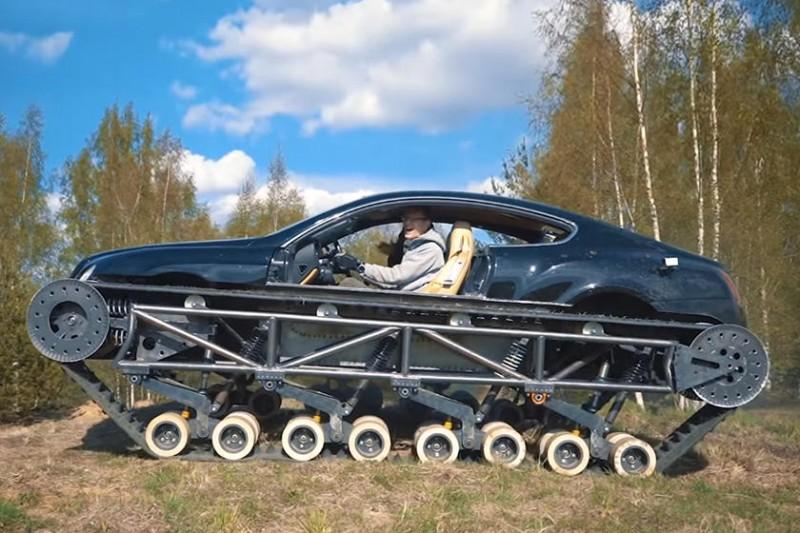 탱크로 변신한 벤틀리 컨티넨탈 GT